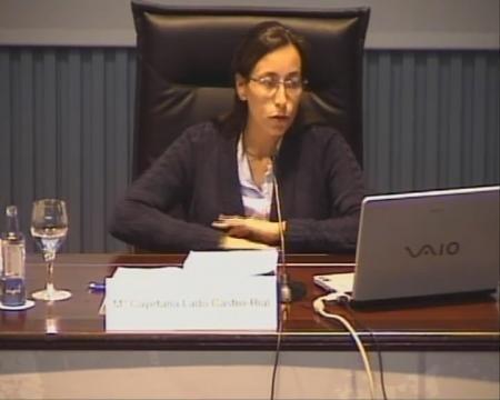María Cayetana Lado Castro-Rial. Directora xeral da Asesoría Xurídica da Xunta de Galicia. Avogada do Estado. - Xornadas sobre Dereito Social e Administración Pública